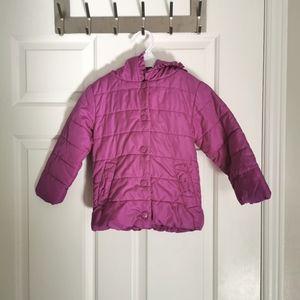 2/$20 Wonderkids light puffer coat girls 2T